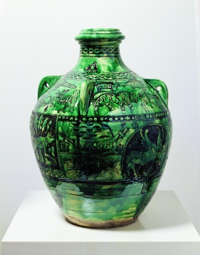 Grayson Perry Taste and Democracy, 2004 Glazed ceramic 41 x 26 cm Burger Collection, Inv. Nr. 1225 © Grayson Perry Courtesy Victoria Miro Gallery, London