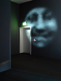 Charles Sandison The Blind Watch Maker, 2005 Single channel data projection, computer, text and C++ Code Dimension variable